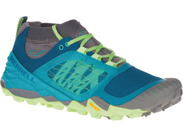 Merrell W S All Out Terra Trail Shoes Light Green